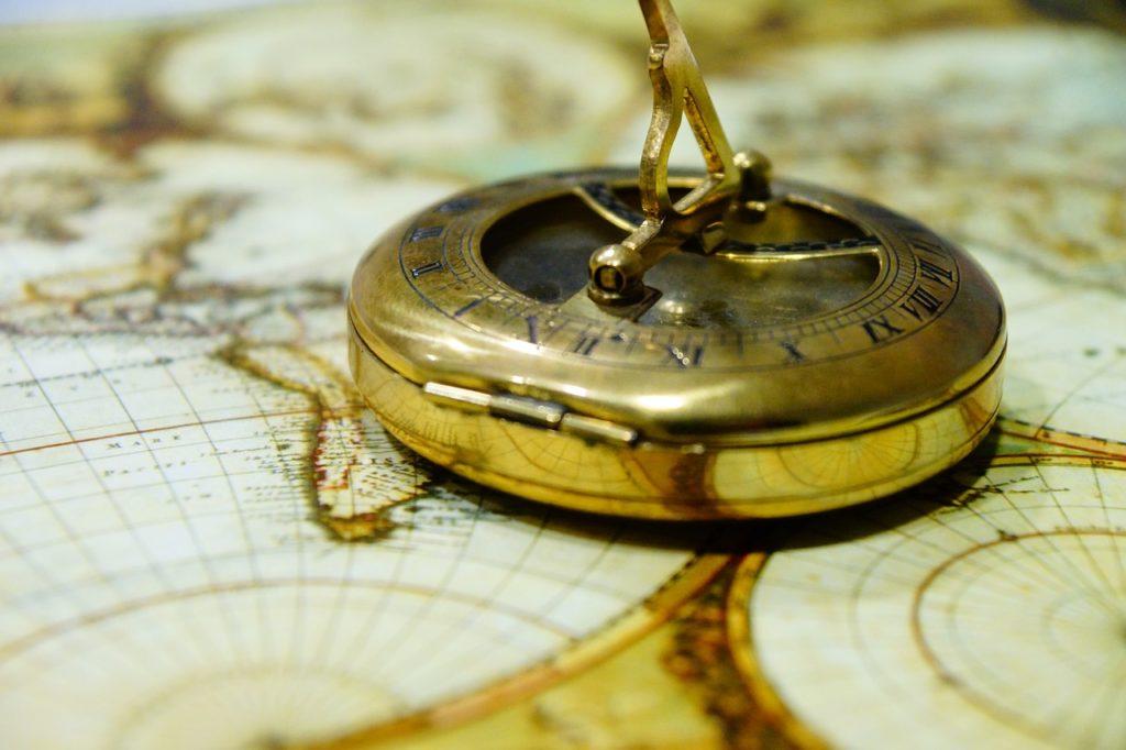 Ziele mit Kompass bestimmen