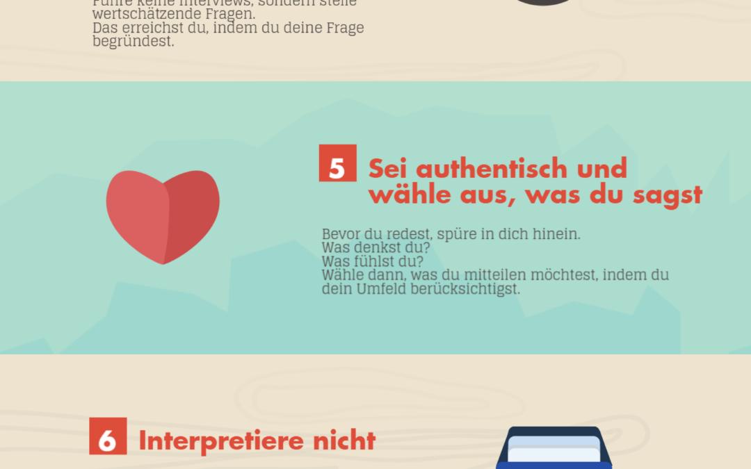 10 Kommunikationsregeln die dir spürbar weiterhelfen
